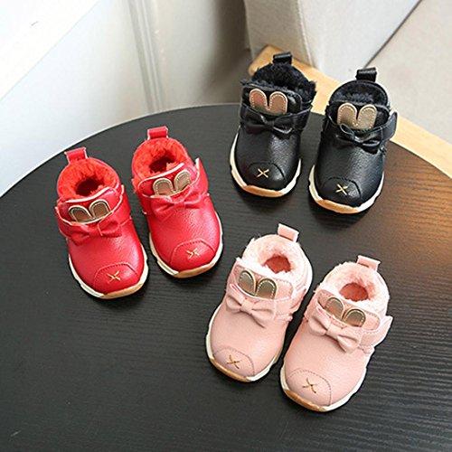 BZLine® Kinder Toddlers Sports Running Baby Shoes Schuhe Sneaker Shoes Schwarz