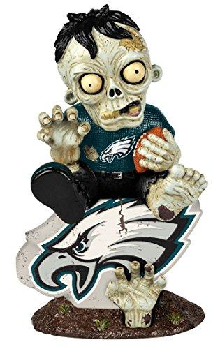 NFL Philadelphia Eagles Zombie On Logo Figurine