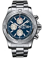 Breitling Super Avenger Mens Chronograph Watch - A1337111-C871-168A