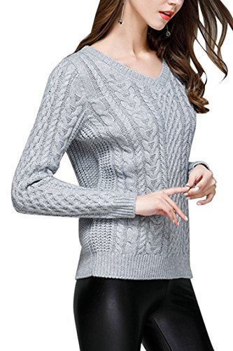 Sovoyant Womens Sweaters Casual Pullovers