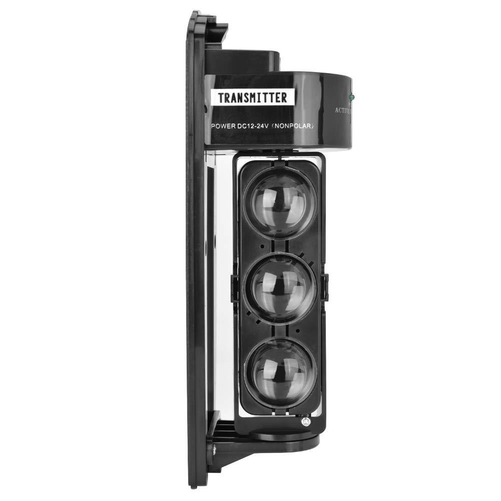 Triple Haz Fotoel/éctrico Alarma de Seguridad en el Hogar Detector de Infrarrojos Sensor para el Hogar Detector IR de Seguridad ABE-50