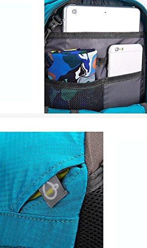 HWLXBB Outdoor Bergsteigen Paket Männer und Frauen 40L Wasserdichte Mehrzweck-Bergsteigen Tasche Wanderrucksack ( Farbe : 1* )