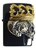 Zippo Skull Crown/BBZ-SkullKA2