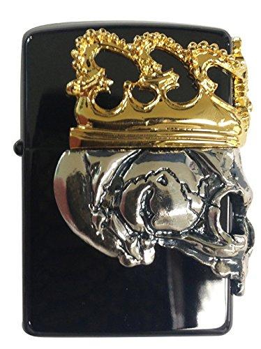 Zippo Skull Crown/BBZ-SkullKA2 by Zippo (Image #2)