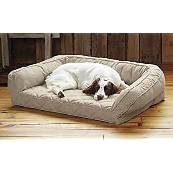 Amazon.com : Orvis Memory Foam Bolster Dog Bed/Medium Dogs
