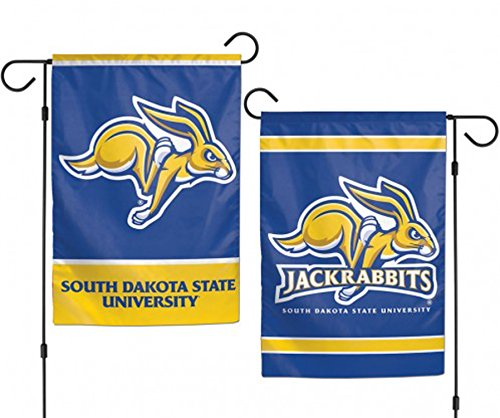 WinCraft South Dakota State University Jackrabbits NCAA Garden Flag 2 Sided 12.5