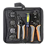 IWISS Crimping Tool Kits with Wire Stripper and