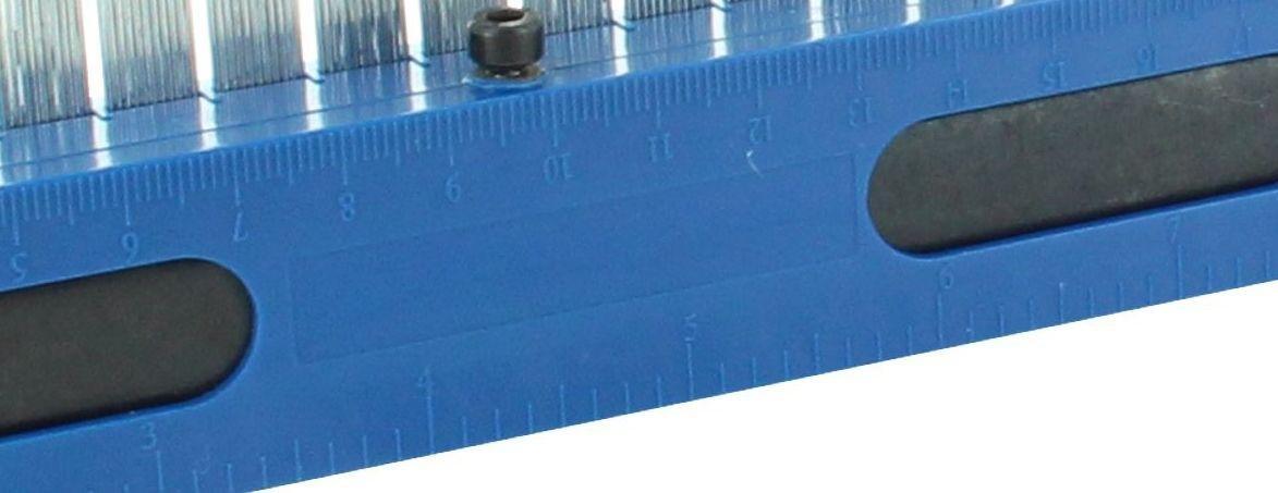 Hedue P142 PS1 Plantilla para perfiles 2 x 20 cm
