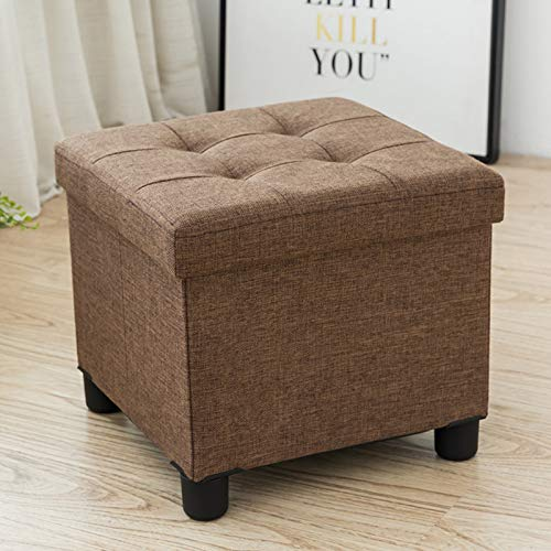 Peachy Details About Cassilia Foldable Storage Ottoman Square Cube Coffee Table Multipurpose Machost Co Dining Chair Design Ideas Machostcouk