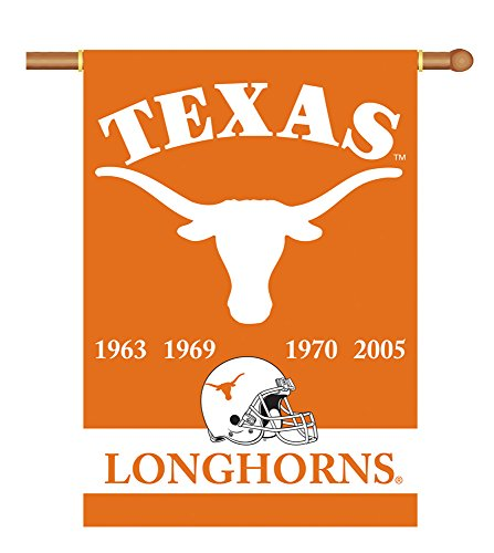 (BSI Indoor Outdoor Sports Banner Texas Longhorns Champ Years 2-Sided 28