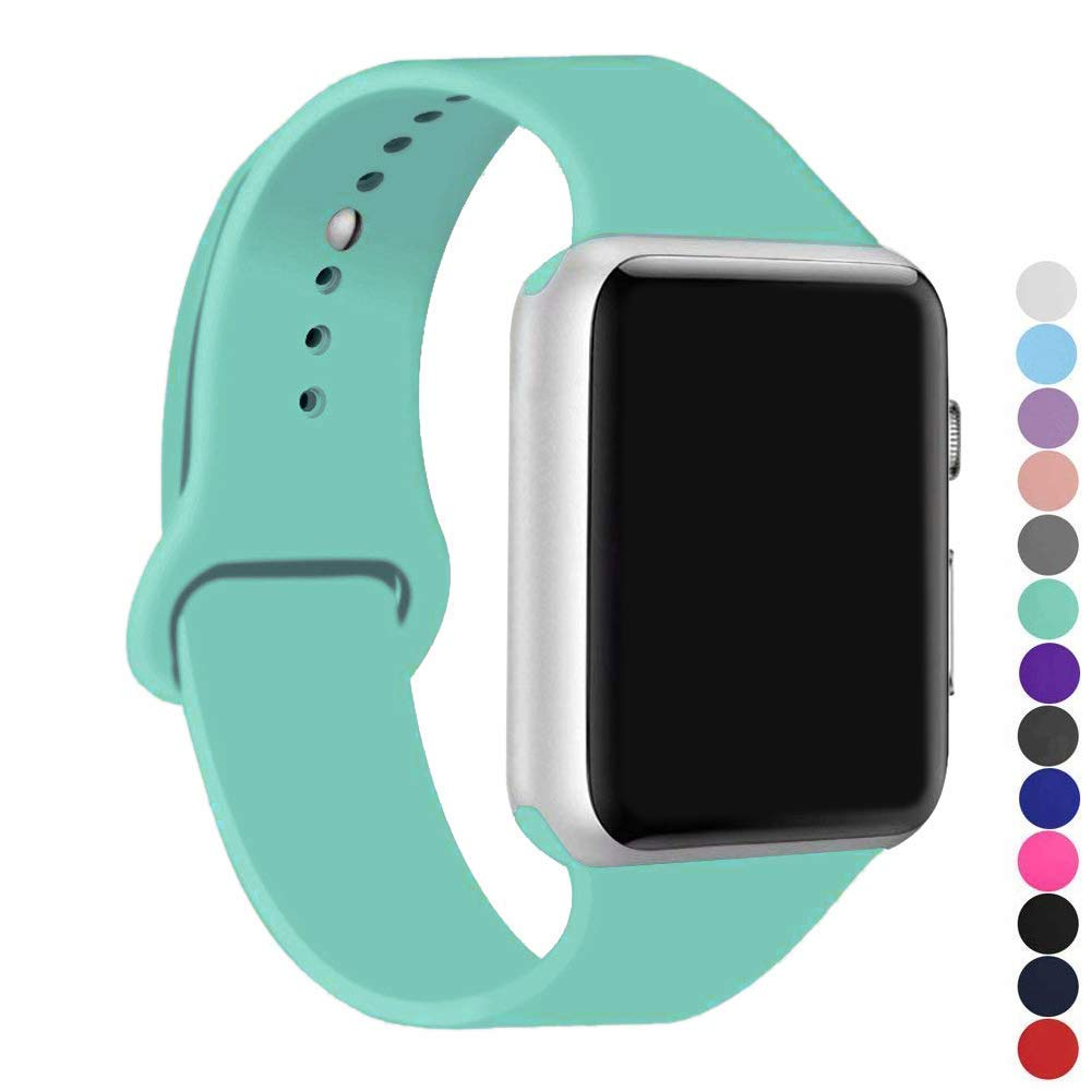 Malla Silicona Para Apple Watch (38/40mm) Ic6space [h1sr6h2]