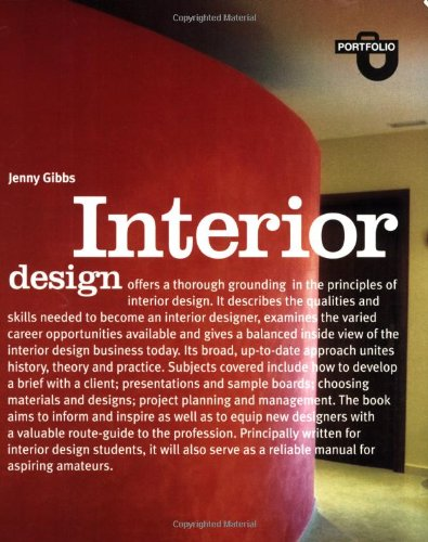Interior Design Portfolio Series Gibbs Jenny 9781856694285 Amazon Com Books