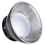 "HeavenSense SGA-SR173S 17cm / 6.7"" Speedlite Beauty Dish Diffuser Lamp Shade for Nikon Canon Yongnuo Godox Sigma Andoer Neewer Vivitar Speedlight On-Camera Flash"