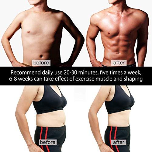 Abdominal Trainer ABS EMS Slim Muscle Stimulator Hip Toner Toning Fitness Belt