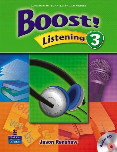 Boost! Listening 3 Student Book with Audio CD pdf epub