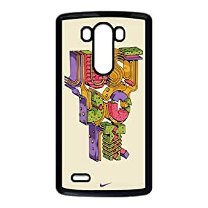 NIKE JUST DO IT V-T-C1036636 LG G3 Phone Back Case Personalized Art Print Design Hard Shell Protection