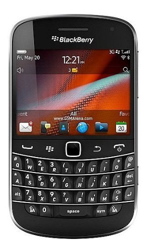 BlackBerry Bold 9900 GSM Factory Unlocked Phone - No Warranty (Black) (Certified Refurbished)
