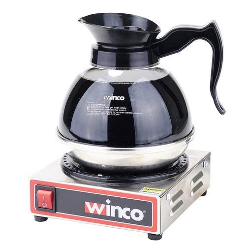 - Winco - ECW-1 - Single Burner Electric Coffee Warmer