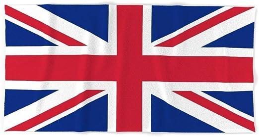 Ku Toalla de Baño Playa Piscina Bandera Reino Unido Union Jack 140 X 70 CM Microfibra: Amazon.es: Hogar