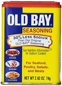Amazon Com Old Bay Seasoning 2 62 Oz Case Of 12