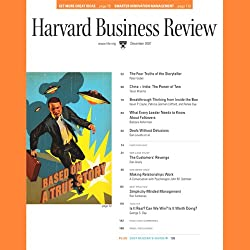 Harvard Business Review, December 2007