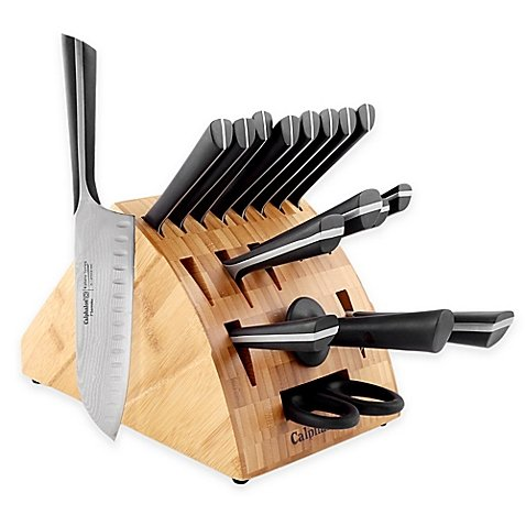 Calphalon Katana Knife Set (Calphalon Katana Series 18-Piece Cutlery Knife Block Set)