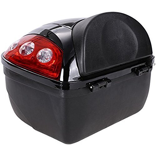 Pagacat Universal Motorcycle Scooter Luggage Tail Tool Cargo Box (US Stock) by Pagacat (Image #5)