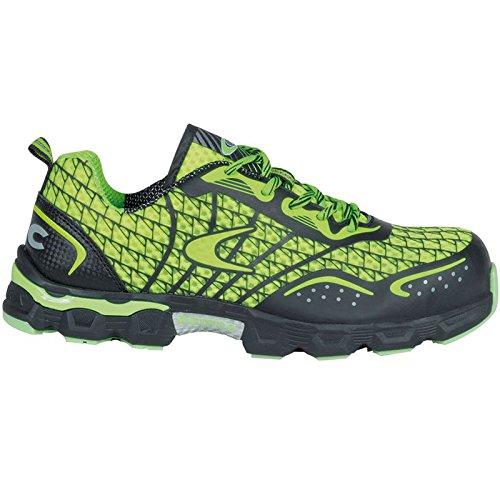 """Cofra JE006–000.w47taglia 47S1P SRC """"calcio basso scarpe di sicurezza, colore: Lime/Verde"""