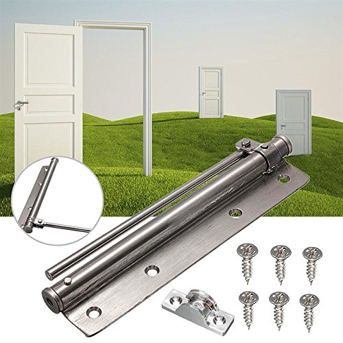 Stainless Steel Adjustable Surface Mounted Auto Closing Door Closer Fire Rated Door Hardware by Isguin (Image #2)