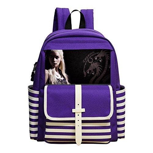 Daenerys New Style Rucksack Trend School Backpak Book Bag Daypack