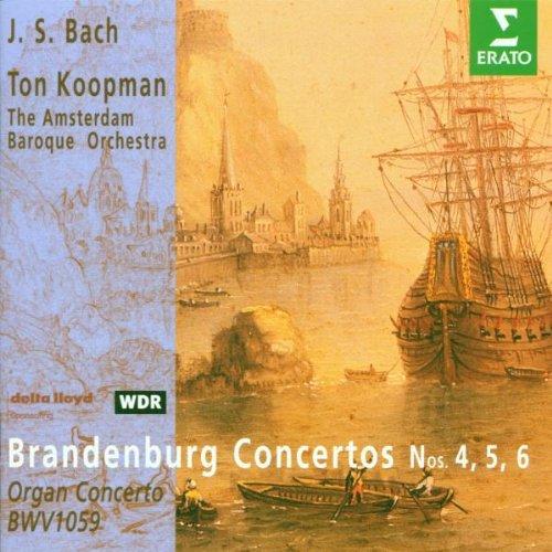 J.S. High quality new Bach - Brandenburg Concertos Nos. 6 4 Concerto Max 75% OFF Organ 5