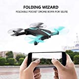 JY018 Drone with Live Video Camera, 2.4G RC Quadcopter Kits, Phone APP Remote Control Drone Helicopter RC Airplane Toy