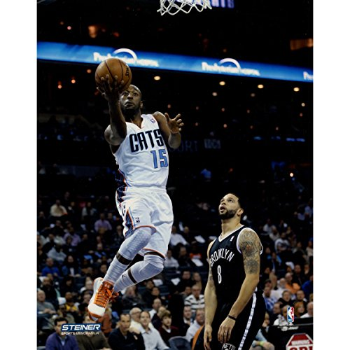 Kemba Walker Charlotte Bobcats Drives to the Basket Against Brooklyn Nets 8x10 Photo Uns (Getty #163276117)