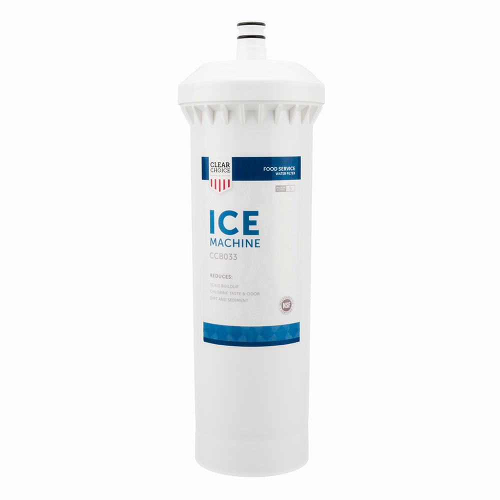 Clear Choice Ice Filtration System Replacement Cartridge for CUNO 55600-01 55600-09 AP500 AP510 AP51706 AP522 CFS517 CS-61 CS500 Also Compatible with 3M 70020015189 70020041458 70020041466, 1-Pack