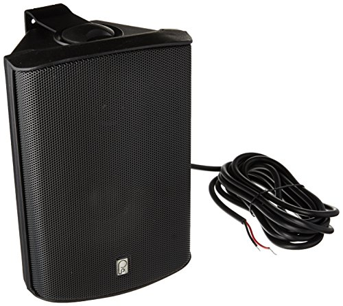 Poly-Planar MA-7500-B 5x7'' Box Speaker Black 50W, by Poly-Planar