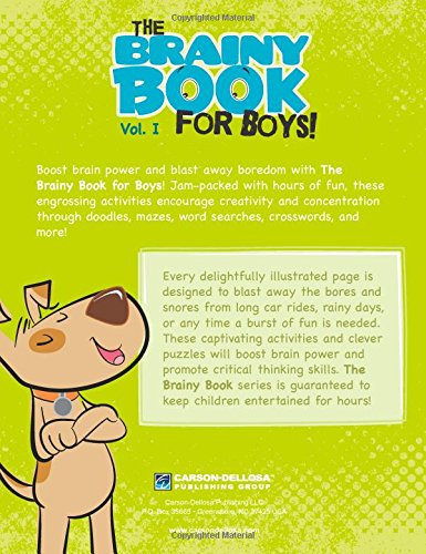 Brainy Book for Boys, Volume 1, Ages 6 - 11 (Brainy Books)