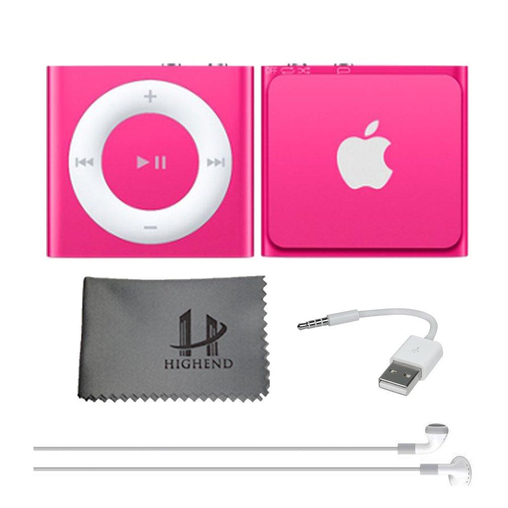 Apple iPod Shuffle 2GB - Pink, 5th Generation *LATEST: Amazon.co.uk:  Electronics