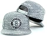 Mitchell & Ness NBA Grey Noise Snapback Cap