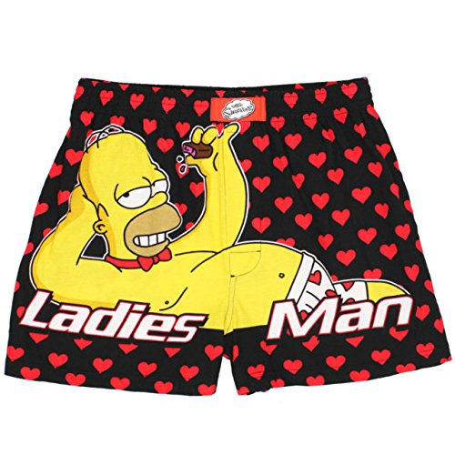 The Simpsons Homer Ladies Man Men's Boxer