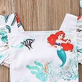 Baby Girls Rompers, Mermaid Sea World Pattern
