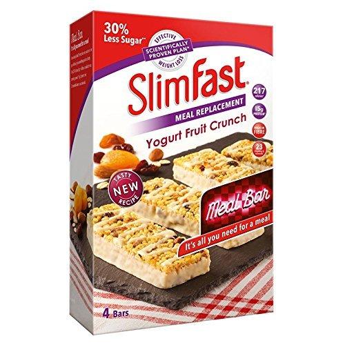 SlimFast Yougurt Fruit Crunch Meal Bars
