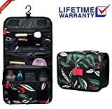 Toiletry bag Travel Organizer Cosmetic Bag makeup bag hanging Waterproof compartments Portable Travel vacation for Women Men girls boys kids (Toiletry bag-01)