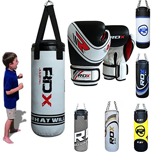 RDX Kids Boxing Children Punch Bag Unfilled MMA Junior Punching Youth Training Gloves Kickboxing