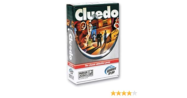 Hasbro Juegos Cluedo Viaje (00220105): Amazon.es: Juguetes y juegos