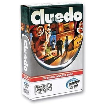 Hasbro Juegos Cluedo Viaje 00220105 Amazon Es Juguetes Y Juegos
