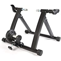 RockBros Bike Trainer Stand Indoor Magnetic Bicycle Exercise Trainer Foldable Mountain Road Bike Trainer with 5