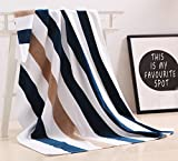 "100% Cotton Oversized Large Beach Towel,Pool Towel (35""x70″ )—Soft, Quick Dry, Lightweight, Absorbent, and Plush"