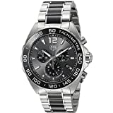 TAG Heuer Men's 'Formula 1' Swiss Quartz Stainless Steel Dress Watch, Color:Silver-Toned (Model: CAZ1011.BA0843) Reviews