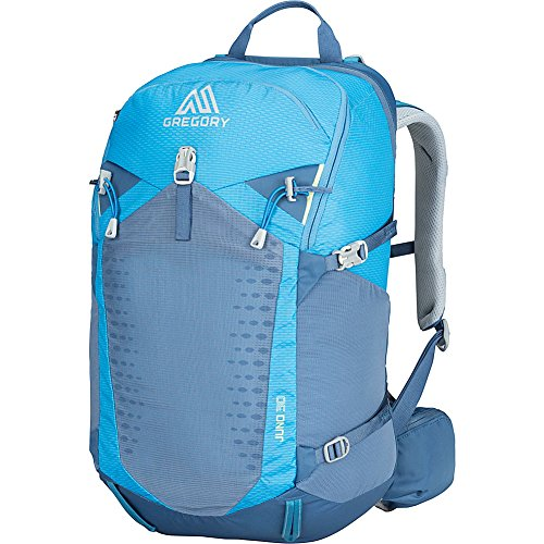 Gregory Mountain Products Juno 30 Liter Women s Day Hiking Backpack Hiking, Walking, Travel Free Hydration Bladder, Breathable Components, Cushioned Straps Stay Hydrated on The Trail