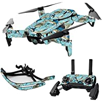 MightySkins Skin for DJI Mavic Air Drone - Island Fish | Max Combo Protective, Durable, and Unique Vinyl Decal wrap cover | Easy To Apply, Remove, and Change Styles | Made in the USA